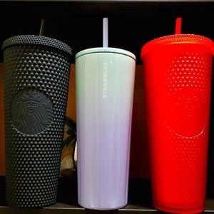 Starbucks Studded, Matte,Soft Touch, & Ombre Set